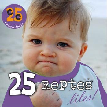 25 reptes